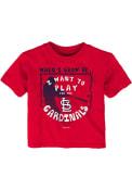 St Louis Cardinals Infant When I Grow T-Shirt - Red