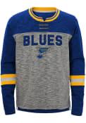 St Louis Blues Youth Future Classic Crew Sweatshirt - Blue