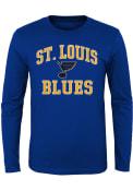 St Louis Blues Youth #1 Design T-Shirt - Blue
