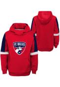 FC Dallas Youth Goalkeeper Hooded Sweatshirt - Red