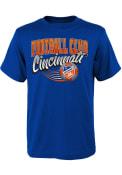 FC Cincinnati Youth Activate T-Shirt - Blue