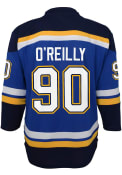Ryan O'Reilly St Louis Blues Youth 2020 Home Hockey Jersey - Blue
