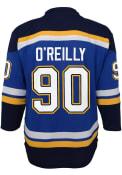 Ryan O'Reilly St Louis Blues Boys 2020 Home Hockey Jersey - Blue