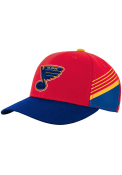 St Louis Blues Youth Special Edition Structured Adjustable Hat - Red