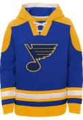 St Louis Blues Youth Ageless Hooded Sweatshirt - Blue