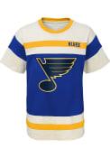 St Louis Blues Youth Buzzer Beater Fashion T-Shirt - Blue