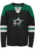 Dallas Stars Boys Goaltender Crew Sweatshirt - Kelly Green
