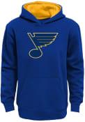 St Louis Blues Youth Prime Hooded Sweatshirt - Blue