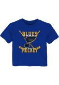 St Louis Blues Infant Classic Sticks T-Shirt - Blue
