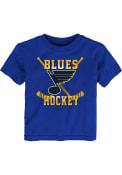 St Louis Blues Toddler Blue Classic Sticks T-Shirt
