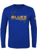 St Louis Blues Youth Authentic Pro T-Shirt - Blue