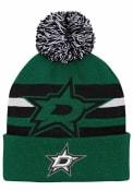 Dallas Stars Youth Heritage Cuff Knit Hat - Green