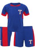 Texas Rangers Toddler Windup Top and Bottom - Blue