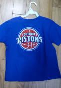 Detroit Pistons Boys Blue Rally Loud T-Shirt