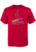 St Louis Cardinals Youth Red Primary T-Shirt