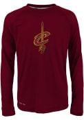 Cleveland Cavaliers Youth Red Motion Offense T-Shirt