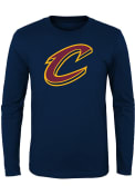Cleveland Cavaliers Youth Navy Blue Primary T-Shirt