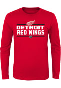 Detroit Red Wings Boys Red Epitome T-Shirt