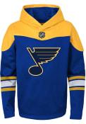 St Louis Blues Kids Navy Blue Breakaway Hooded Sweatshirt