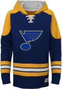 St Louis Blues Kids Navy Blue Legendary Hooded Sweatshirt