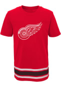 Detroit Red Wings Youth Red Captain T-Shirt