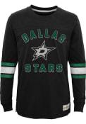 Dallas Stars Youth Historical T-Shirt - Black