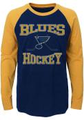 St Louis Blues Youth Black Morning Skate T-Shirt