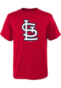 St Louis Cardinals Youth Red Secondary T-Shirt
