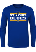 St Louis Blues Youth Navy Blue Epitome T-Shirt