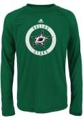Dallas Stars Boys Green Practice T-Shirt