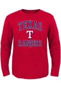 Texas Rangers Toddler Red #1 Design T-Shirt