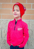Detroit Red Wings Youth Polymer Quarter Zip - Red