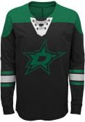 Dallas Stars Youth Perennial Crew Sweatshirt - Black