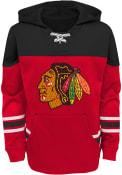 Chicago Blackhawks Youth Freezer Hooded Sweatshirt - Red