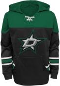 Dallas Stars Youth Freezer Hooded Sweatshirt - Black