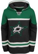 Dallas Stars Youth Asset Hooded Sweatshirt - Black