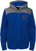 St Louis Blues Youth Centripedal Full Zip Jacket - Blue