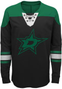 Dallas Stars Boys Perennial Crew Sweatshirt - Black