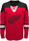 Detroit Red Wings Boys Perennial Crew Sweatshirt - Red
