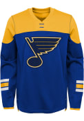 St Louis Blues Boys Defenseman Crew Sweatshirt - Blue