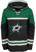 Dallas Stars Boys Asset Hooded Sweatshirt - Black