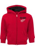 Detroit Red Wings Baby Enforcer Full Zip Sweatshirt - Red