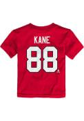 Patrick Kane Chicago Blackhawks Toddler Outer Stuff Player T-Shirt - Red
