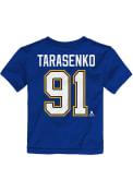 Vladimir Tarasenko St Louis Blues Toddler Outer Stuff Player T-Shirt - Blue