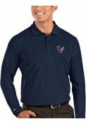 Houston Texans Antigua Tribute Polo Shirt - Navy Blue