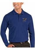St Louis Blues Antigua Tribute Polo Shirt - Blue