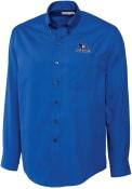 Creighton Bluejays Cutter and Buck Epic Dress Shirt - Blue
