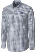 Creighton Bluejays Cutter and Buck Gilman Dress Shirt - Blue