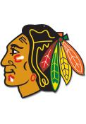 Chicago Blackhawks 12 Steel Logo Sign