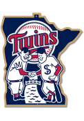 Minnesota Twins 12 Steel Logo Sign